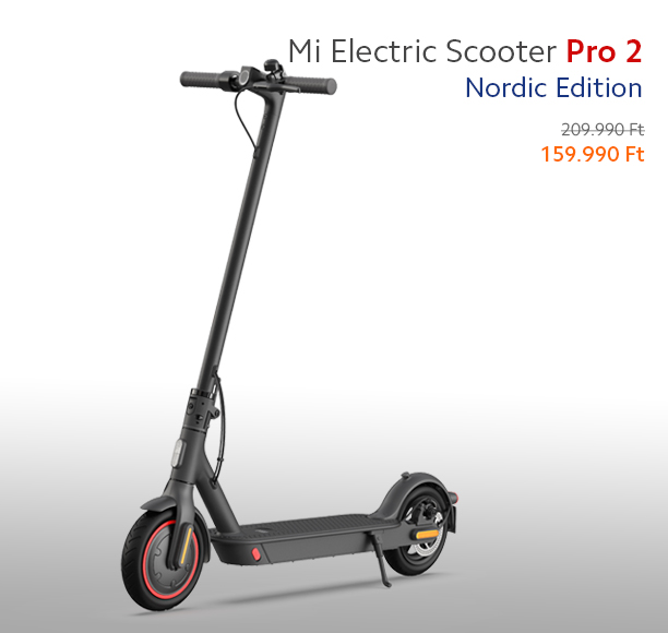 Mi Electric Scooter Pro 2 Nordic Edition